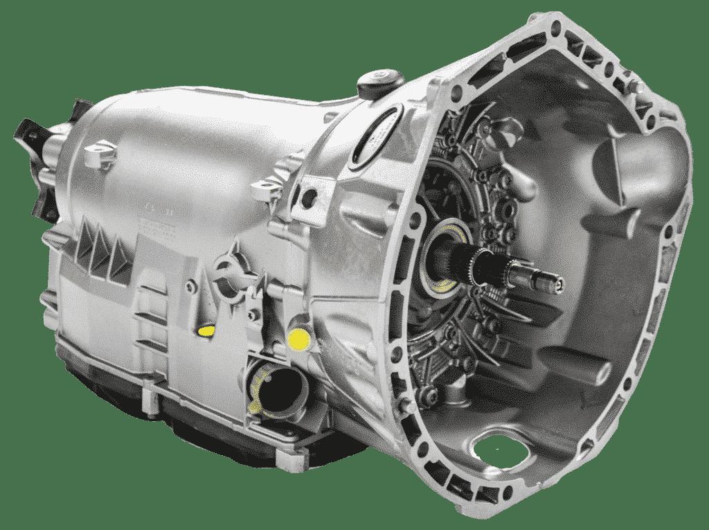 Queransicht eines Mercedes Getriebe | ATT24