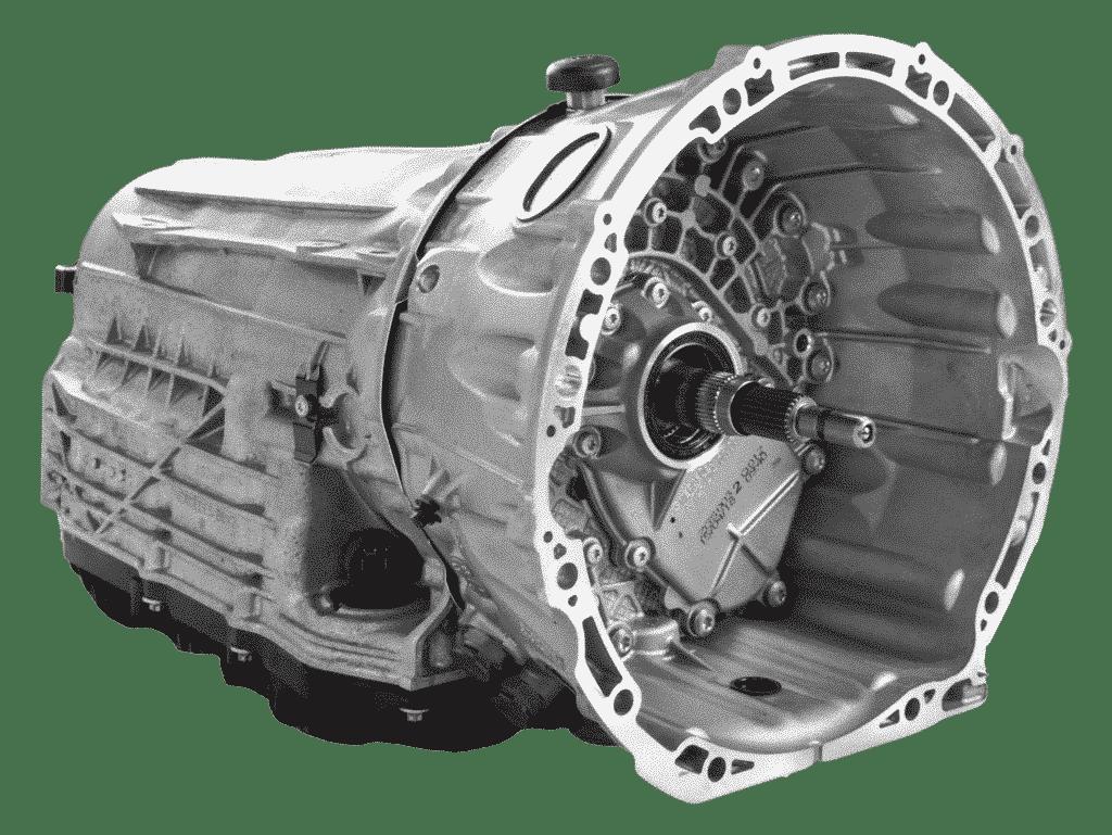 Linksansicht eines Mercedes Getriebe   ATT24