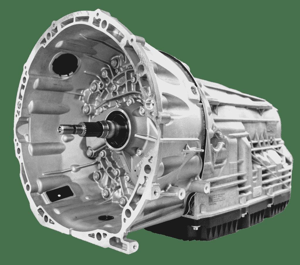 Seitenansicht eines Mercedes 9 Gang Automatik Getriebes   ATT24