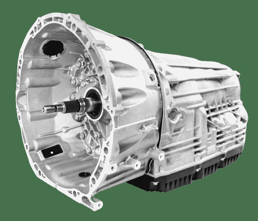 Rechtsansicht einer Mercedes 9 Gang Automatik