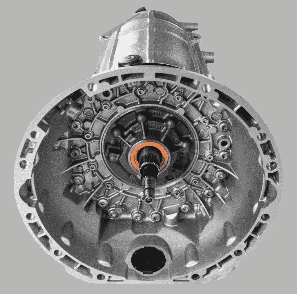 Mercedes 7 Gang Automatik Getriebe von ATT24
