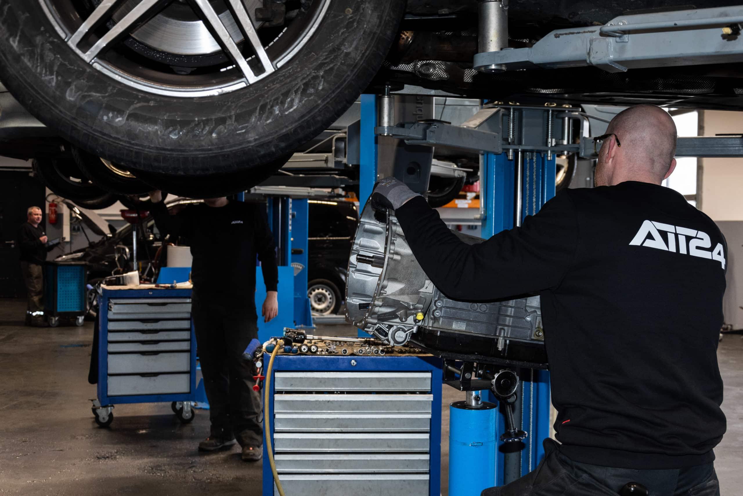 5-Gang Automatikgetriebe Aus- und Einbau